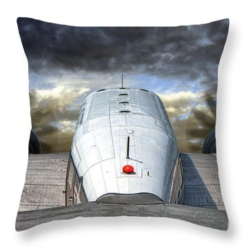 The Takeoff Throw Pillow