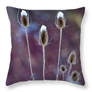 The Tall Hats Throw Pillow