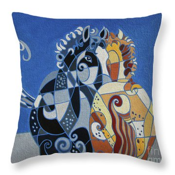 The Tao Of Friendship Throw Pillow