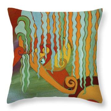The Tao Of Intensity Throw Pillow