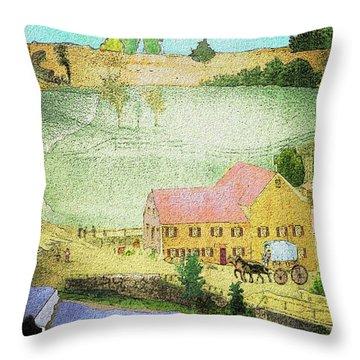The Tavern Throw Pillow