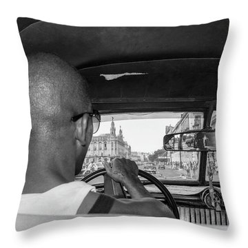 From The Taxi Throw Pillow