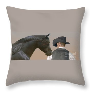The Team Throw Pillow by Corey Ford