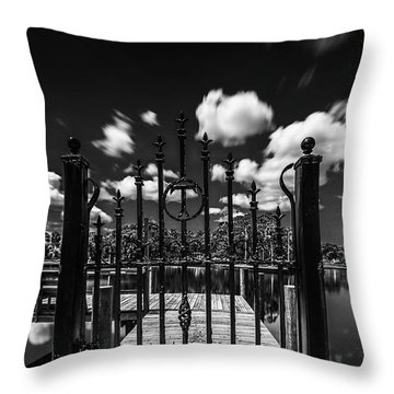 The Tee Gate  Throw Pillow