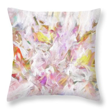 The Tender Compassions Of God Throw Pillow by Margie Chapman