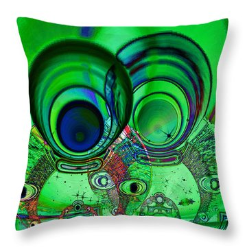 The Terrible Twos Throw Pillow by Wendy J St Christopher