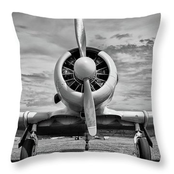 The Texan Throw Pillow