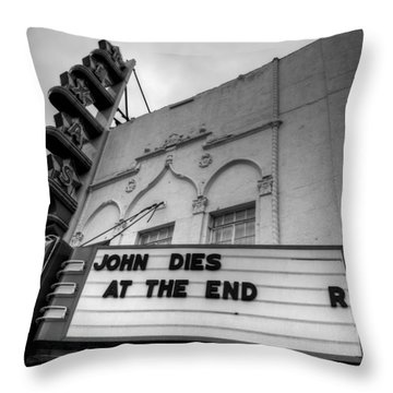 The Texas Theatre Throw Pillow