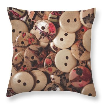 The Textile Pile Throw Pillow