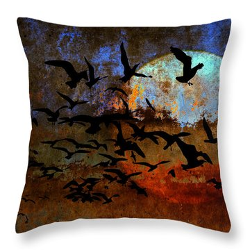The Texture Of Our Dreams Throw Pillow by Ron Jones