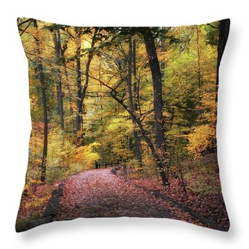 Throw Pillow featuring the photograph The Thain Forest by Jessica Jenney