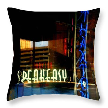 The Thaxton Speakeasy Throw Pillow