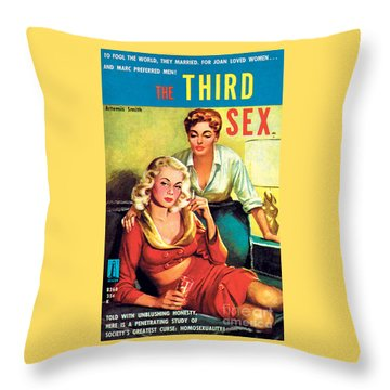 The Third Sex Throw Pillow
