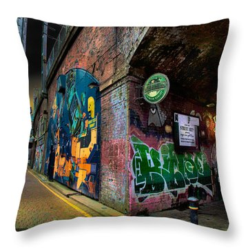 The Thirsty Scholar Throw Pillow