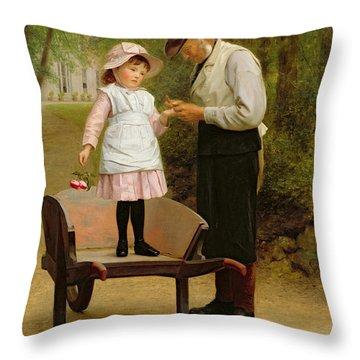 Bushels Throw Pillows
