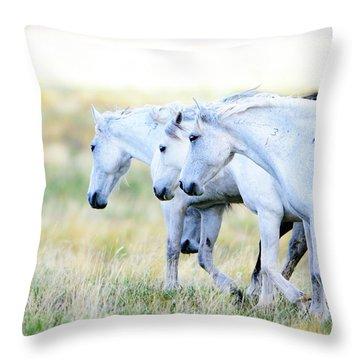 The Three Amigos Throw Pillow