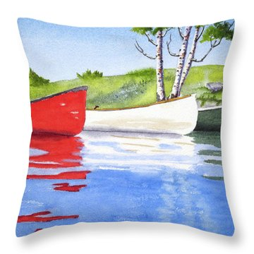 Throw Pillow featuring the tapestry - textile The Three Amigos by Rich Stedman