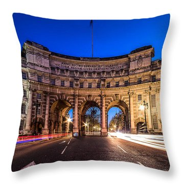 The Three Gates Throw Pillow