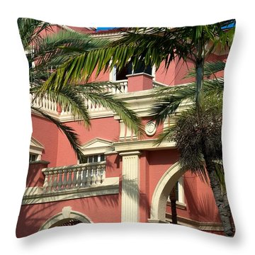 Throw Pillow featuring the photograph The Three Hundred Sixty Five Fifth Avenue S. by Joseph Yarbrough