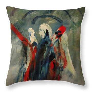 The Three Kings Of Christmas Throw Pillow