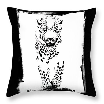 The Three Musketeers - Leopard Throw Pillow