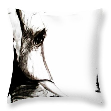 The Three Musketeers - Elephant Throw Pillow