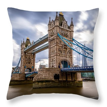 The Three Towers Throw Pillow