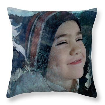 The Thrill Of Adventure Throw Pillow
