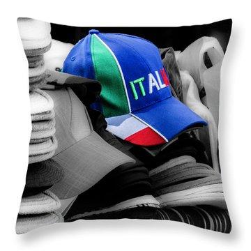 The Tifosi Cap Throw Pillow