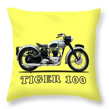 The Tiger 100 1949 Throw Pillow