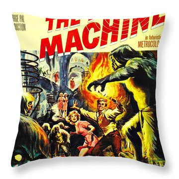 The Time Machine B Throw Pillow