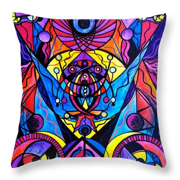 The Time Wielder Throw Pillow