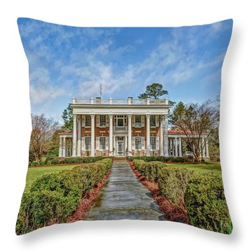 The Tisdale Manor Throw Pillow