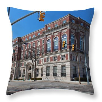 Throw Pillow featuring the photograph The Toledo Club by Michiale Schneider