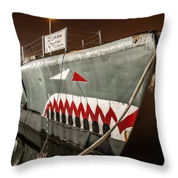 The Torsk Throw Pillow