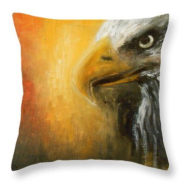 The Totem Throw Pillow