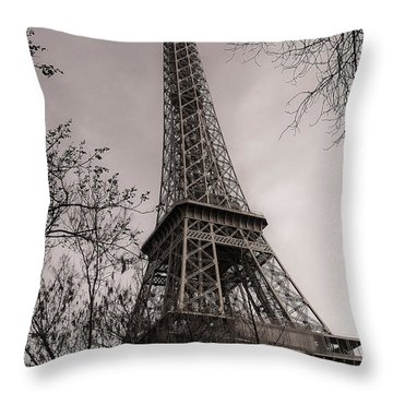 The Tower Emerges Throw Pillow