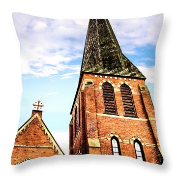The Tower Throw Pillow by Onyonet  Photo Studios