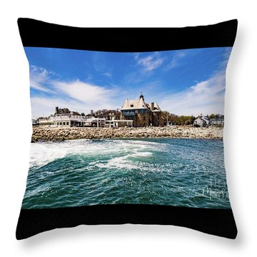 The Towers Of Narragansett  Throw Pillow