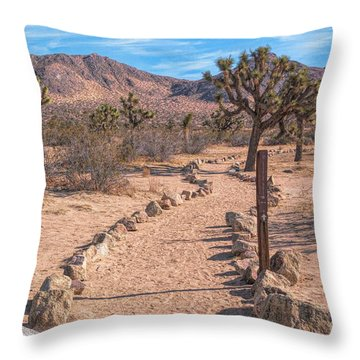 The Trailhead Throw Pillow