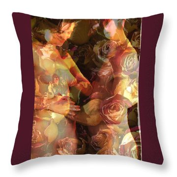 Throw Pillow featuring the photograph The Treasure by Robert D McBain