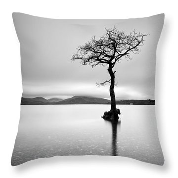 The Tree Throw Pillow by Grant Glendinning
