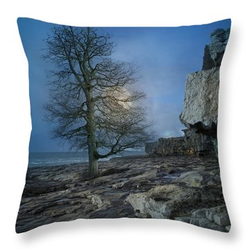 The Tree Of Inis Mor Throw Pillow