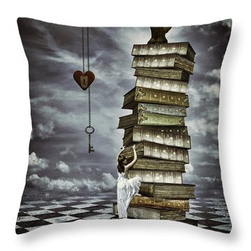 The Tree Of Love Throw Pillow by Mihaela Pater