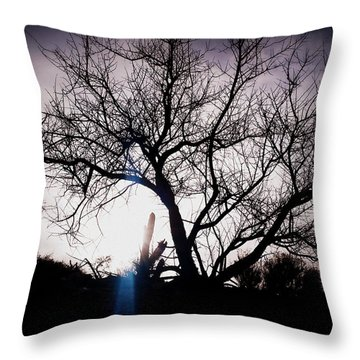 The Tree Of Wisdom Throw Pillow