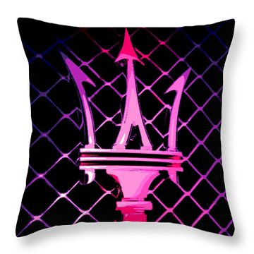 the Trident Throw Pillow