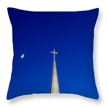 The Trinity Throw Pillow