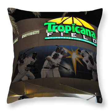 The Trop Throw Pillow