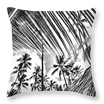 Throw Pillow featuring the photograph The Tropics by DJ Florek