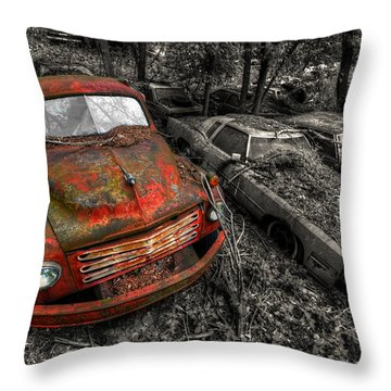 The Truck Throw Pillow